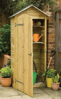 Our selection of wooden garden storage units is superb; we have a wonderful collection of styles and designs to choose from. Take a look at our wooden garden storage today for free delivery to most UK postcodes. Garden Tool Shed, Garden Storage Shed, Garden Sheds, Buy Shed, Zinc Roof, Metal Roof, Pallet Shed, Small Sheds, Potting Sheds