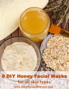 Don't waste money on expensive facial masks. Try these 8 DIY Honey Facial Mask Recipes. Homemade Skin Care, Diy Skin Care, Homemade Beauty, Diy Beauty, Beauty Tips, Beauty Products, Homemade Moisturizer, Beauty Habits, Lush Products