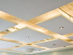 Paneled Ceiling Lighting - by Urban Office - absolutley love this use of light and material