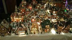 2015 Christmas  Village