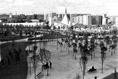 1967 - Parque de Berlín, año de su inauguración.