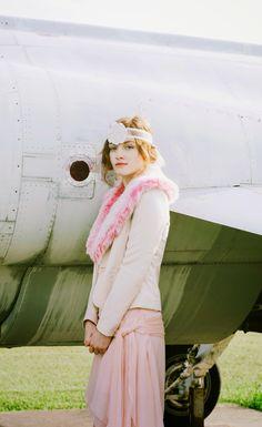 Esther fromthesticks: Tutorial: Vintage Inspired Fur Wrap