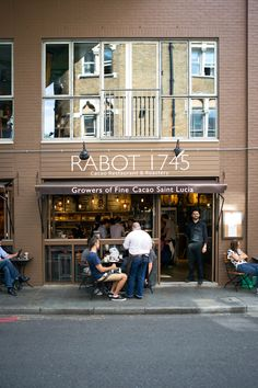Rabot 1745 in London, Greater London. Perfect for post-Shard treats!