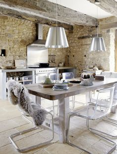 Roses and Rust: French Farmhouse, Dordogne