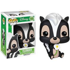 The skunk and best friend to Bambi from Disney's Bambi is now a vinyl figure! The Bambi Flower Pop! Vinyl Figure measures about 3 tall. A fun recreation. Disney Pop, Film Disney, Disney Pixar, Bambi Disney, Disney Dolls, Figurine Pop Disney, Pop Figurine, Figurines D'action, Toy Art