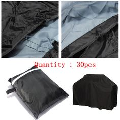 30pcs waterproof bbq cover outdoor rain dust barbecue gas grill cover protector bku