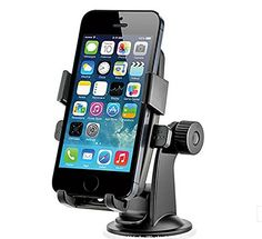 "Ekusoft universal car windshield mount holder bracket mobile holder for car windshield car holder Compatiable with most smartphone Iphone 4/4s/5/5s/6 4.7""/6 5.5"" Ekusoft http://www.amazon.com/dp/B00W5JDM2W/ref=cm_sw_r_pi_dp_bkoovb1H06Q94"