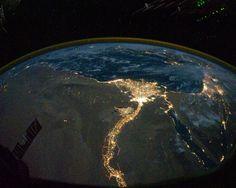 Fotos: La Tierra de noche vista desde el espacio - Península Ibérica