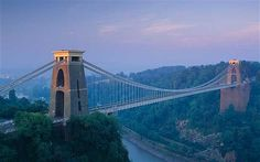 Clifton Suspension Bridge, Bristol.  Bristol is the largest city in the south west of England, with a population of approximately half a million. The city lies between Somerset and Gloucestershire and has been politically administered by both counties in part at various times. However, Bristol is historically a county in its own right and is properly entitled the City and County of Bristol.