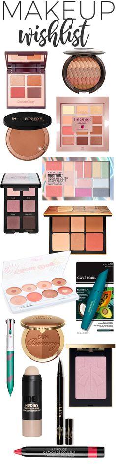 May Makeup Wishlist