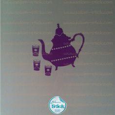 #Stickers #Stickers #WallStickers #Theiere http://www.salam-stick.com/16-stickers-cuisine