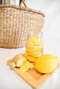 冬はレモンとショウガのシロップを作ってほっこり