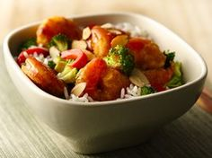 Sweet-and-Sour Shrimp Recipe from Betty Crocker