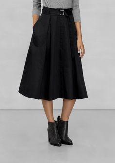 Other Stories | midi-skirt | black