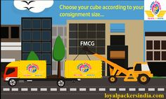 Trucking Cube ensures no space waste, no money waste by allowing you to choose cube according to your consignment size and pay for your cube only instead of whole carrier. Know more:  loyalpackersindia.com
