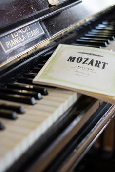 Mozart, music, and piano image Wallpaper Musica, Piano Wallpaper, Sound Of Music, Music Love, Music Is Life, Piano Music, Sheet Music, Piano Keys, Touches De Piano