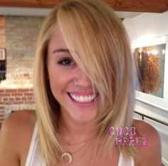 Loved Miley's hair like this! Definitely an option if I cut my hair.