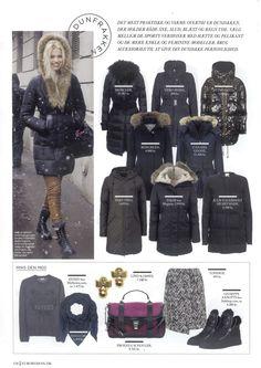 Julie Fagerholt / Heartmade Jacket from AW 13 in the Danish Magazine Eurowoman
