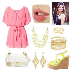 """""""Sin título #187"""" by smery09 ❤ liked on Polyvore featuring Club L, Love Moschino, Valentino, Tiffany & Co. and Annie Fensterstock"""