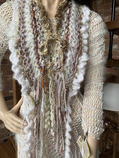 Tricot D'art, Crochet, Creations, Kimono Top, Tops, Women, Fashion, Moda, Fashion Styles