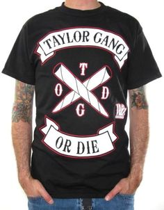 Click for Full Size Image of Wiz Khalifa, T-Shirt, Taylor Gang Or Die