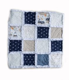A perfect blend of tee pee's, swiss crosses & arrows can be found in this cozy handmade Tee Pee Raggy quilt for your little mister. Rag Quilt, Quilts, Keepsake Quilting, Blanket, Baby, Handmade, Hand Made, Quilt Sets, Blankets