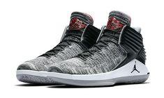 6425c0b9aaa566 The Air Jordan 32 Black Cement (Style Code  inspired by the Air Jordan 3  Black Cement that celebrates Michael Jordan s first MVP season.