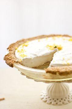 Lemon Ginger Cheesecake