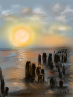 Title:  Broken Dock  Artist:  Christine Fournier