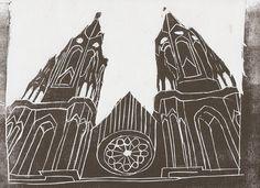 #Sé #CatedraldaSé #Church #Igreja #SãoPaulo #CentroHistórico #Center #woodcut #xilogravura #art #urban #AnagramaArtLab #CaHachul