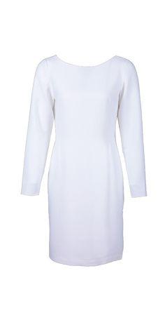 Drape Back Dress on TROVEA.COM