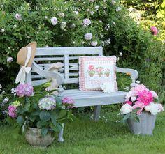 a beautiful bench