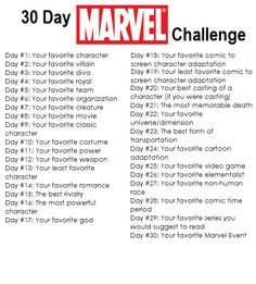30 day marvel challenge – – - New Sites Disney Drawing Challenge, 30 Day Writing Challenge, Sketchbook Challenge, Disney Challenge, Journal Challenge, Oc Challenge, 30 Day Instagram Challenge, Thigh Challenge, Art Prompts