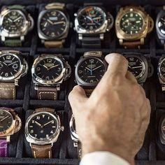 Casio Women's Gold Stainless-Steel Quartz Watch with Digital Dial – Fine Jewelry & Collectibles Panerai Watches, Panerai Luminor, Stylish Watches, Luxury Watches For Men, Audemars Piguet, Patek Philippe, Rolex, Watches Photography, Armani Watches