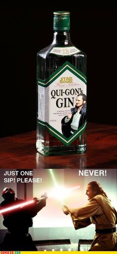 Now that's some serious gin!
