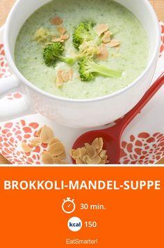 Brokkoli-Mandel-Suppe - smarter - Kalorien: 150 kcal - Zeit: 30 Min. | eatsmarter.de
