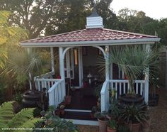 The Colonial Retreat  - Mike Clifford  - In the corner of our exotic garden