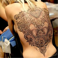 "Beautiful lace tattoo by Marco Manzo <a href=""/p/?q=MarcoManzo&hashtag_id=5236"">#MarcoManzo</a> <a href=""/p/?q=lacetattoo"">#lacetattoo</a>"