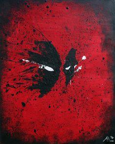 Deadpool by Arian Noveir  - I'm in kind of a Deadpool mood right now... :D