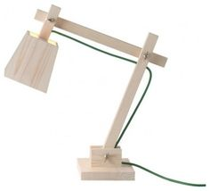 Muoto Wood Architect Lamp  $295.00  http://aplusrstore.com/product.php?id=660
