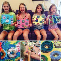Mini Matisse: Art to Remember- Donut Painting Pop Art, 2nd Grade Art, Art Curriculum, Middle School Art, Art Lessons Elementary, Preschool Art, Art Classroom, Art Club, Teaching Art