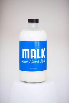 Organic Raw Almond Milk #malktalk www.malktexas.com