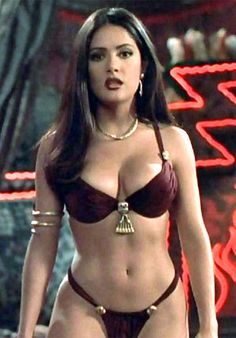 Salma Hayek.  She was unbelievable in this movie.  And of coarse she always is.  Incredible.