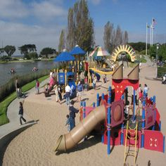 Dennis the Menace Park:  The best playground / playpark in Monterey County!  There is even a skate park attached!  Best of all, it's FREE!