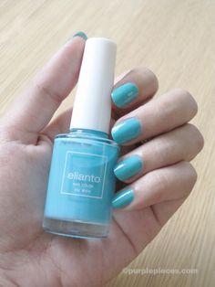 Elianto Nail Polish In Turquoise