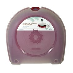 Homz Products 23.25-in Wreath Storage Container. Item #: 124991 |  Model #: 6701LWRED.02. Was $9.98, now 8.98