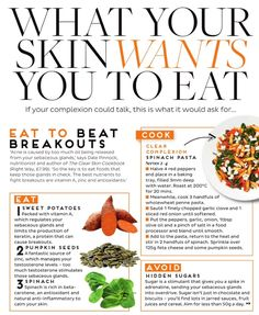 What Your Skin Wants You to Eat - Beat Breakouts