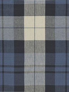 Ralph Lauren Fabric - SUMMER COTTAGE PLAID - INDIGO - Our Price:  $100.50 #homedecor #plaid