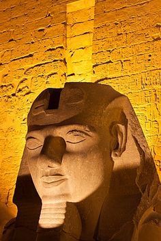 Statue in the ancient Egyptian Luxor Temple at night, Luxor, Thebes, UNESCO World Heritage Site,. Ancient Egypt Fashion, Ancient Egyptian Art, Ancient History, Ancient Egypt Civilization, Ancient Civilizations, Egyptian Alphabet, Luxor Temple, Egypt Art, North Africa