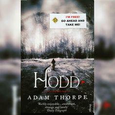 Currently reading #Hodd #adamthorpe #bookcrossing #bookcrossinguk #reading #bookstagram #books #bookworm #readingtime  #booklover #read #reader  #robinhood #nottingham #love #booknerd #bookaddict